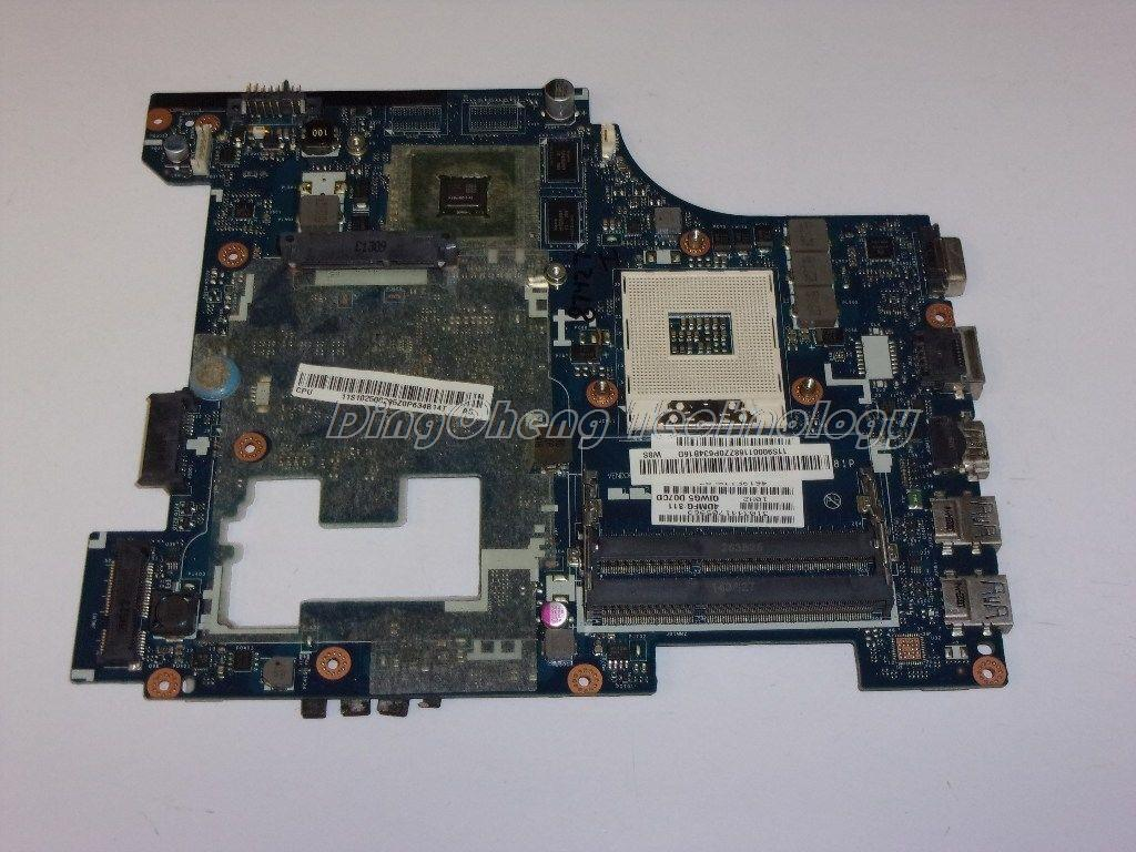 SHELI laptop Motherboard for Lenovo G480 QIWG5 LA-7981P with 4 video chips non-integrated graphics card HDMI 100% tested