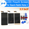 Touch Screen For Xiaomi Redmi Note 3 New LCD+Touch Digitizer Glass Panel Assembly For Xiaomi Redmi Note 3 Prime FHD 5.5inch