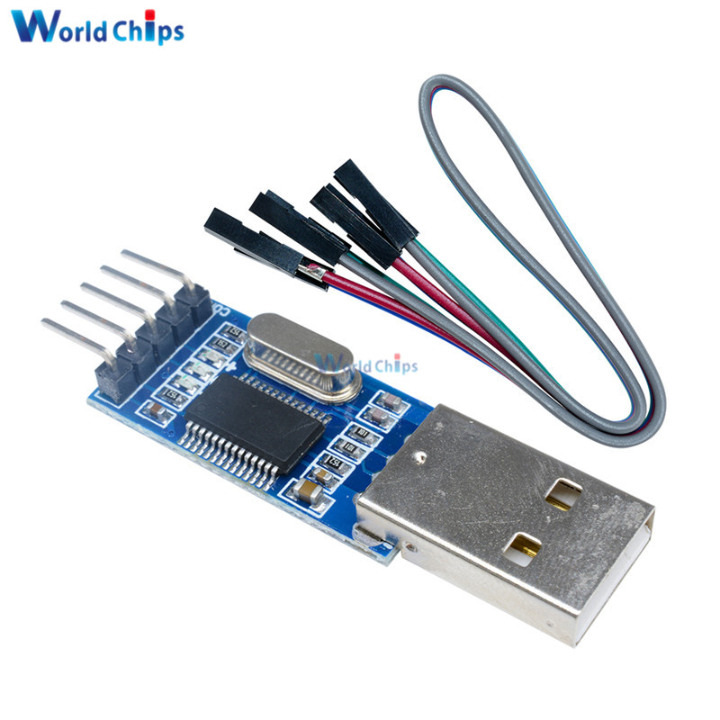 USB To RS232 TTL Converter Adapter PL2303 PL2303HXA Download Board Module With Flexible Cover 4Pins Cable