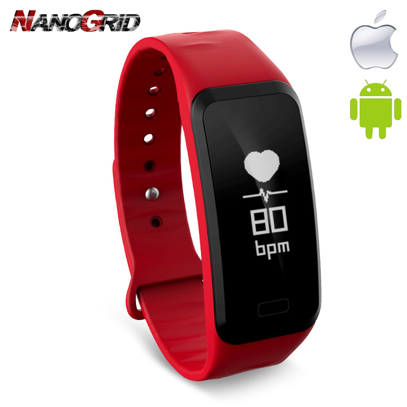 Nuevo reloj inteligente Bluetooth yg reloj de choque Hartslagmeter - Relojes para hombres
