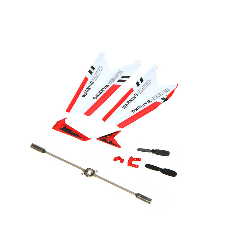 RCtown Full Set Replacement Parts For Syma S107 RC Helicopter Main Blades  Main Shaft Tail Decorations Gear Set Connect
