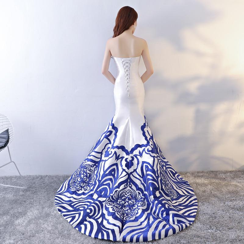 S Chinois Taille Vêtements À Qipao Style Blanc Mince Cheongsam Rétro Lady Sexy Robe Partie De Long Mode xxl Mariage Robes EqaxnTwa