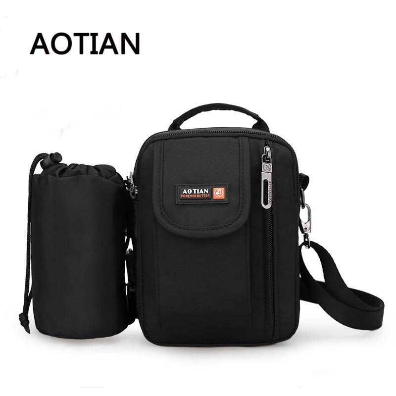 Top-Handle Bags Nylon Waterproof Pouch Sling Bag Handbag Man Crossbody Bag  Multifunctional Water Cup 1c44e2d722ecf