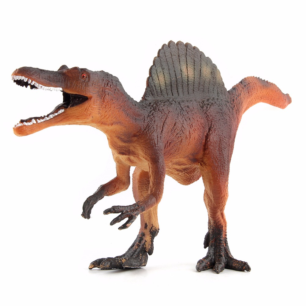New Jurassic spinosaurus Dinosaur Action & Toy Figures Animal Model Collection Learning & Educational Kids Birthday Boy Gift все цены