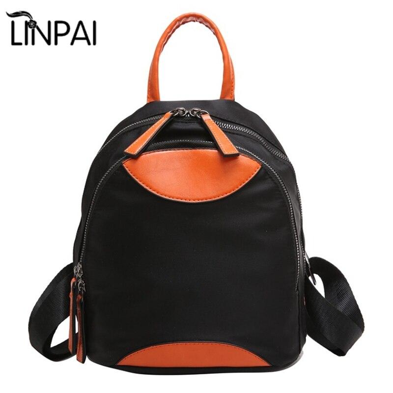 Linpai Новый Для женщин рюкзак Для женщин Bolsa Дорожные сумки для студентов для девочек школьная сумка милые дети рюкзак для подростков Mochila