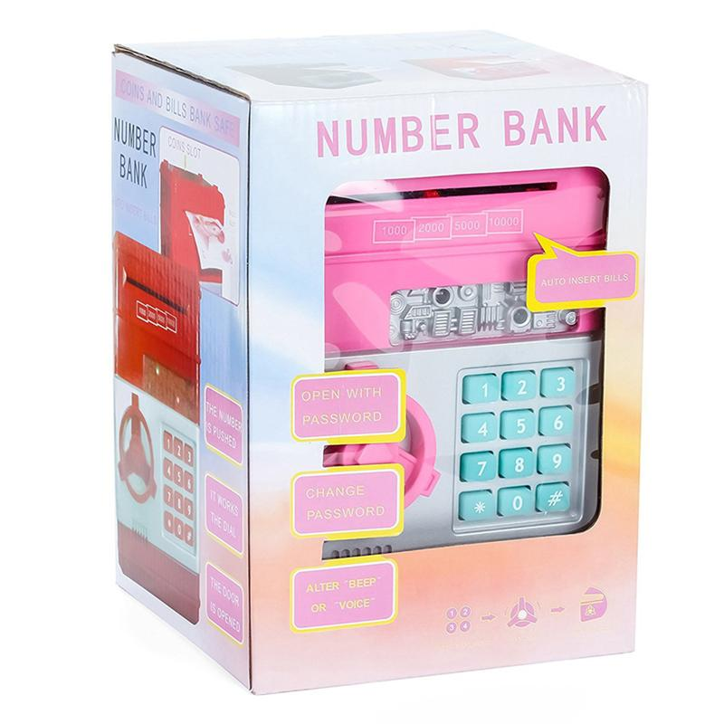 Children's Money Saving Bank Deposit Box Intelligent Voice