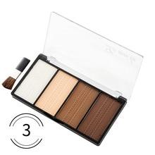 4 Colors Face Makeup Powder Pressed Powder Contour Bronzer H