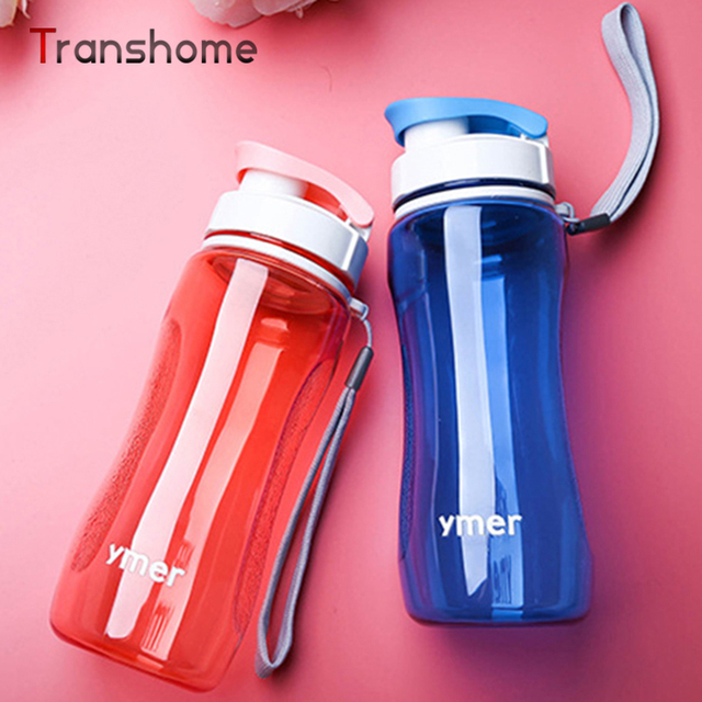 Transhome Healthy Bicycle Water Bottle 560ml Simple Space Sport Drinkware Travel Hiking Running Bottles For Outdoor Sport Travel