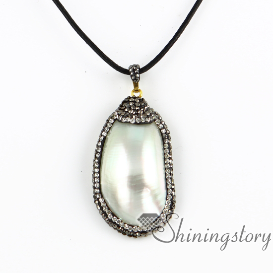 Oval mother of pearl pendants rainbow abalone necklaces jewelry sea oval mother of pearl pendants rainbow abalone necklaces jewelry sea shell necklaces white oyster shell rainbow abalone shell in pendants from jewelry aloadofball Images