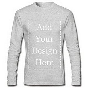 Image 3 - URSPORTTECH Brand Custom Men Long Sleeve T Shirt Add Your Own Text Picture on Your Personalized Customized Tee