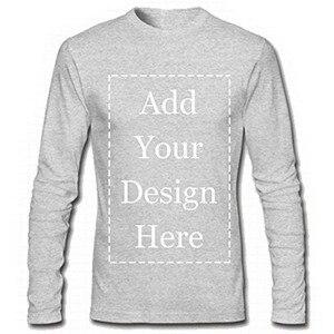 Image 3 - URSPORTTECH 브랜드 사용자 정의 남성 긴 소매 티셔츠 맞춤형 맞춤형 티에 자신의 텍스트 그림 추가