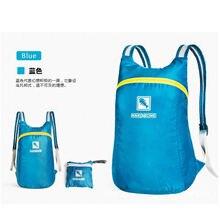 2016 Portable Fashion Travel Backpacks Zipper Soild Nylon Back Pack Daily Traveling Women men Shoulder Bags Folding Bag