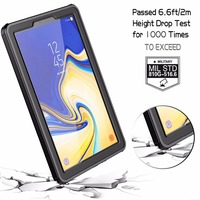 galaxy s4 For Samsung Galaxy Tab S4 Waterproof Case with Built-in Screen Full-Body Rugged Protective Case for Galaxy Tab S4 10.5 inch 2018 (3)