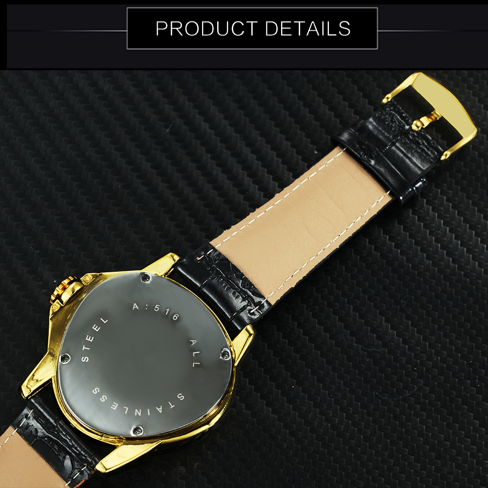 WINNER Official Sports Automatic Mechanical Men Watch Racing Triangle Skeleton Wristwatch Top Brand Luxury Golden Gift WINNER Official Sports Automatic Mechanical Men Watch Racing Triangle Skeleton Wristwatch Top Brand Luxury Golden + Gift Box