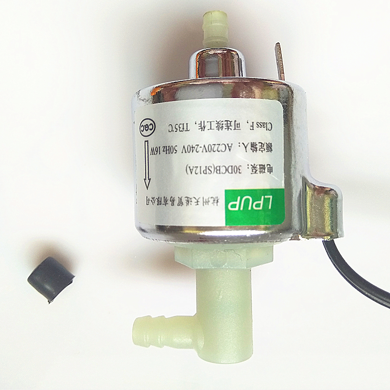 Small heater miniature solenoid pump water heaters electromagnetic pump model 30DCB SP 12A power AC220 240V 50HZ 16W in Pumps from Home Improvement