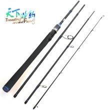 Fishing Rod 4 Section 2.1m 2.4m 2.7m Spinning Rod Canna Da Pesca In Fibra Di Carbonio Carp Fish Pole Vara De Pesca