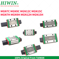 HIWIN Linear Guides Long Carriages MGN7H MGN9H MGN12H linear guide block MGN7C MGN9C MGN12C MGN15C Slider 3D Printer Part