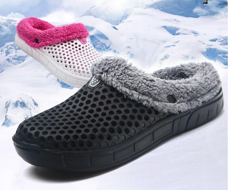 Detail Feedback Questions about New Winter Croc Shoes Beach Sandals ... efa4133e222e