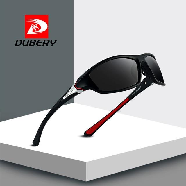 108a7eae82103 DUBERY Classic Polarized Sunglasses Men Women Driving Glasses Fashion Male  Sport Fishing Goggles Eyewear Brand Designer
