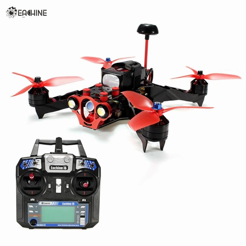 цены на New Hot Eachine Racer 250 PRO FPV Drone Blheli_S 20A F3 1000TVL CCD Camera VTX OSD w/ I6 Remote Control RTF RC Multicopter Drone