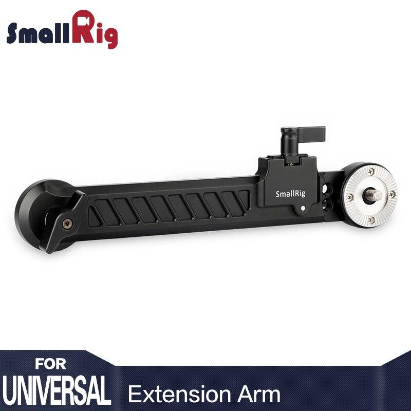 SmallRig Aluminum ARRI Rosette Diameter 31 8mm Extension Arm 360 Angle Adjustable 167mm to 255mm Long