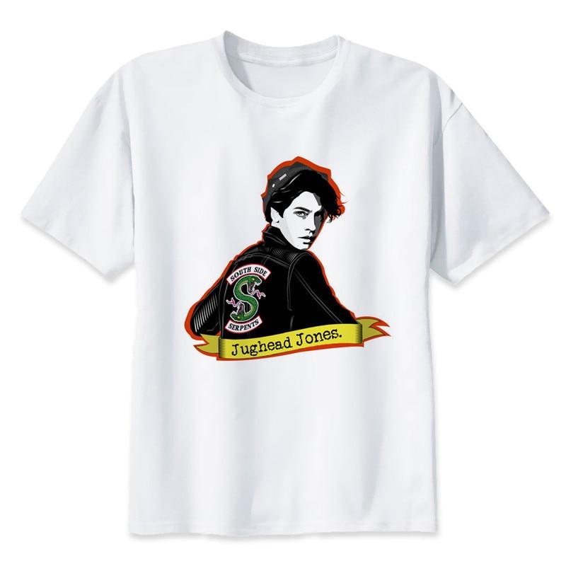 Nouveau Riverdale Hommes Femmes T Shirt Cote Sud Serpents Drole Hip