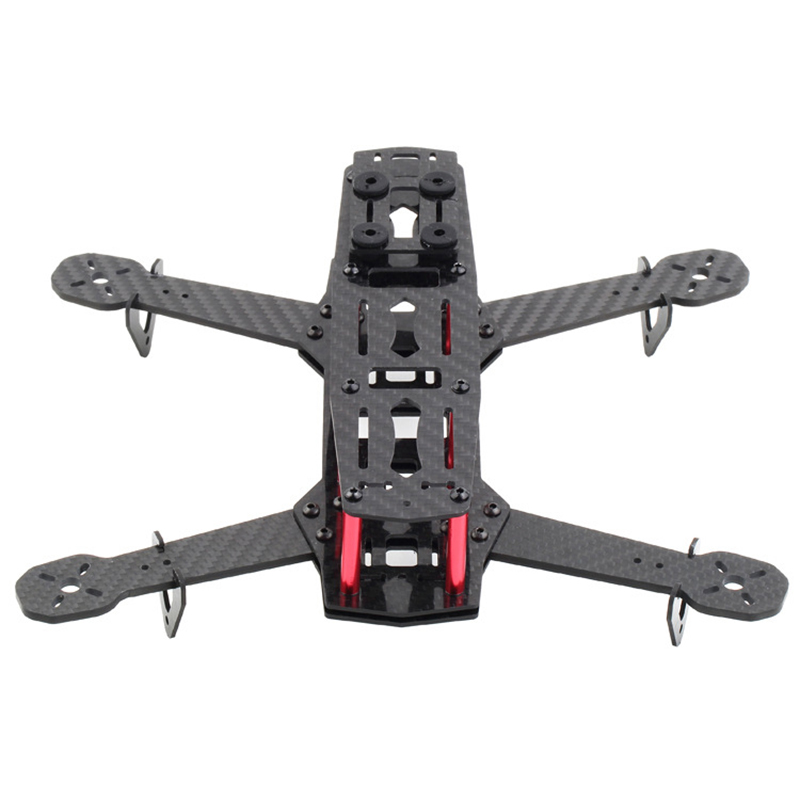 New Quad Frame Pure Carbon Fiber Quadcopter kit QAV250 Drone frame Mini 250 FPV RC Glass Fiber Quadcopter kit Flysky for ZMR250 поло мужское u s polo assn цвет белый g081sz0820gongo vr019 размер xs 44