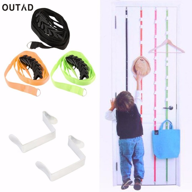 Outad Over Door Hanging Lanyard Hanger Hat Handbag Coat Tidy Storage Organizer Hook For Light Things