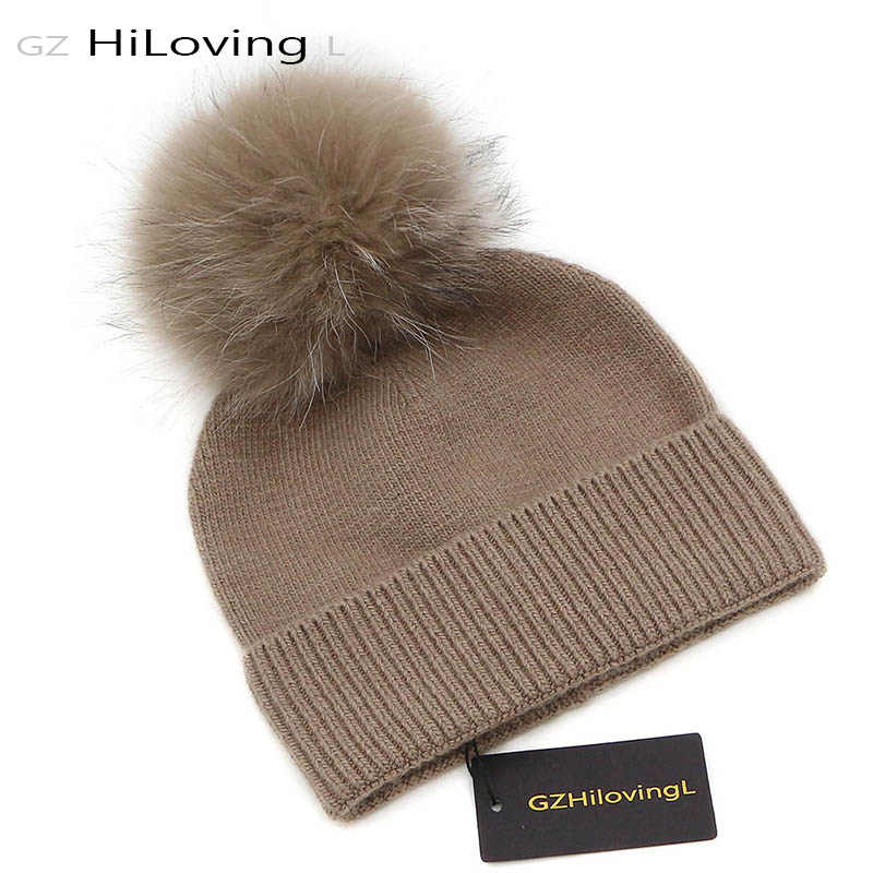 974649b7cb6 GZHilovingL 5-15 years Baby Winter Warm Hat For Children Girls Boys Soft  Wool Real