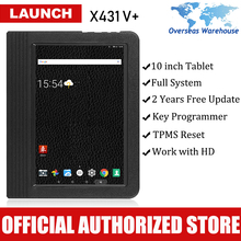 2016 Original Launch X431 V+ Wifi/Bluetooth Scan Pad Software Free Update Online with Heavy-Duty Truck Box Diagnostic Tool  2018 original xtool ps2 gds gasoline version professional car diagnostic tool ps2 gds free update online without plastic box