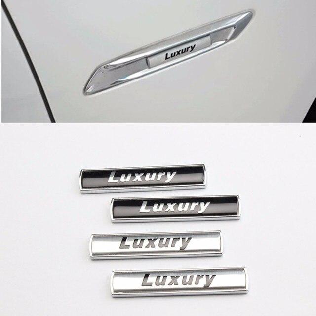 10 Pcs Luxury Sports Fender Emblem Badge Sticker 3d Auto Accessories