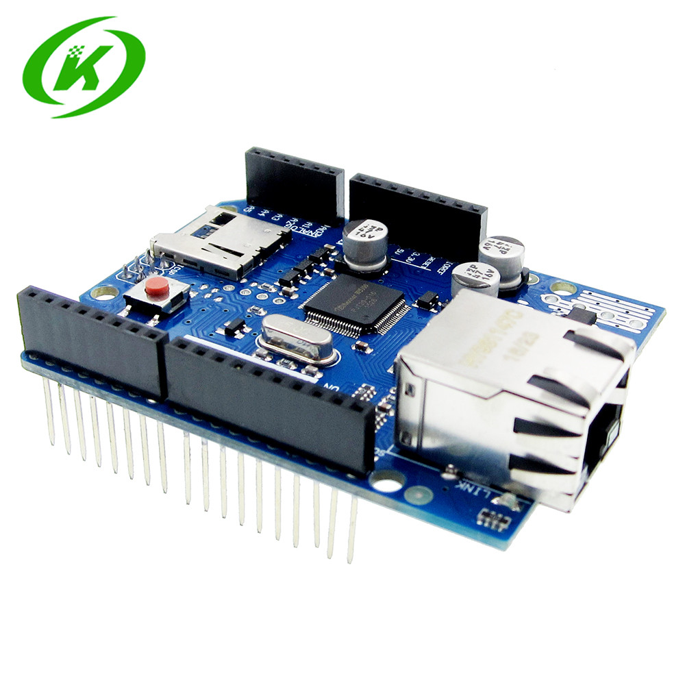 Ethernet Shield W5100 R3 2013 Support PoE For UNO Mega 2560 Nano Ethernet Shield W5100 R3 2013 Support PoE For UNO Mega 2560 Nano