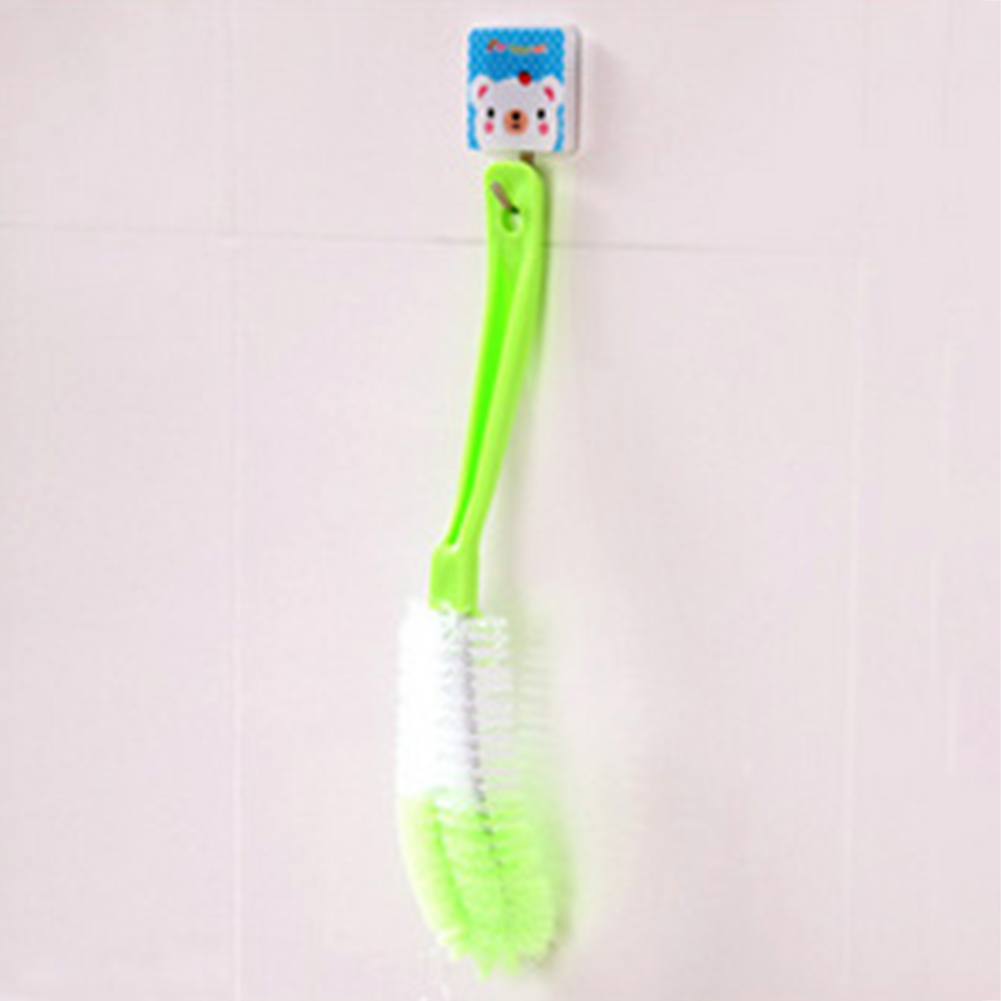 Multifunctional Glass Washing Bottle Brush Kitchen Cleaning Cup Casual Random Color Home Long Handle Baby Tool Hanging Plastic