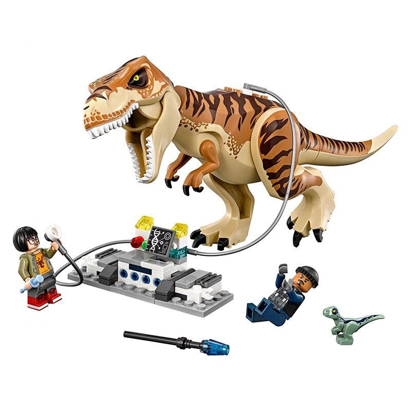Rex Transport Dinosaur Building Blocks Kit  Legoings 631 Pcs Jurassic World 2 T