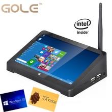 Windows 10 y Android 4.4 OS dual mini ordenador Intel Z3735F Quad Core Mini tablet PC con WIFI bluetooth