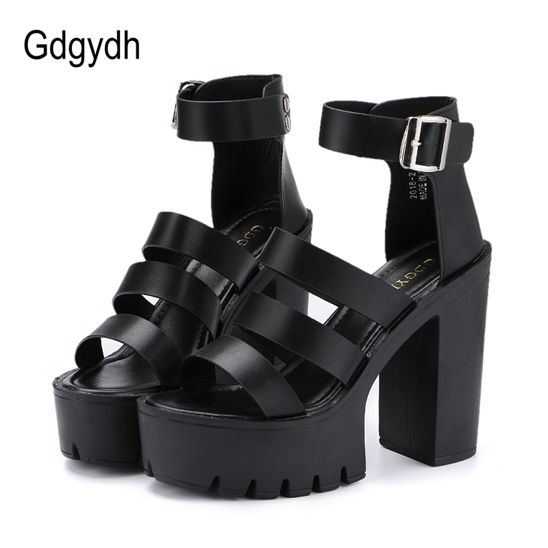 Gdgydh 2018 New Summer Shoes Women White Open Toe Button Belt Thick Heel Wedges Platform Shoes Fashionable Casual Sandals Female 4m 4m 00 03280 робот художник