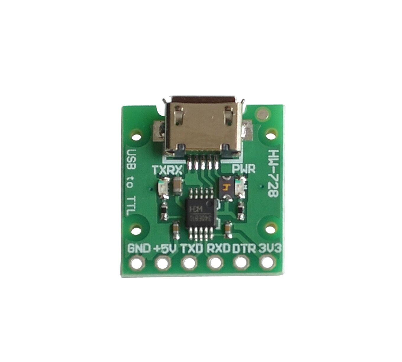 CH340E USB к ttl серийный преобразователь, В 5 В/3,3 В альтернатива CH340G модуль для pro mini