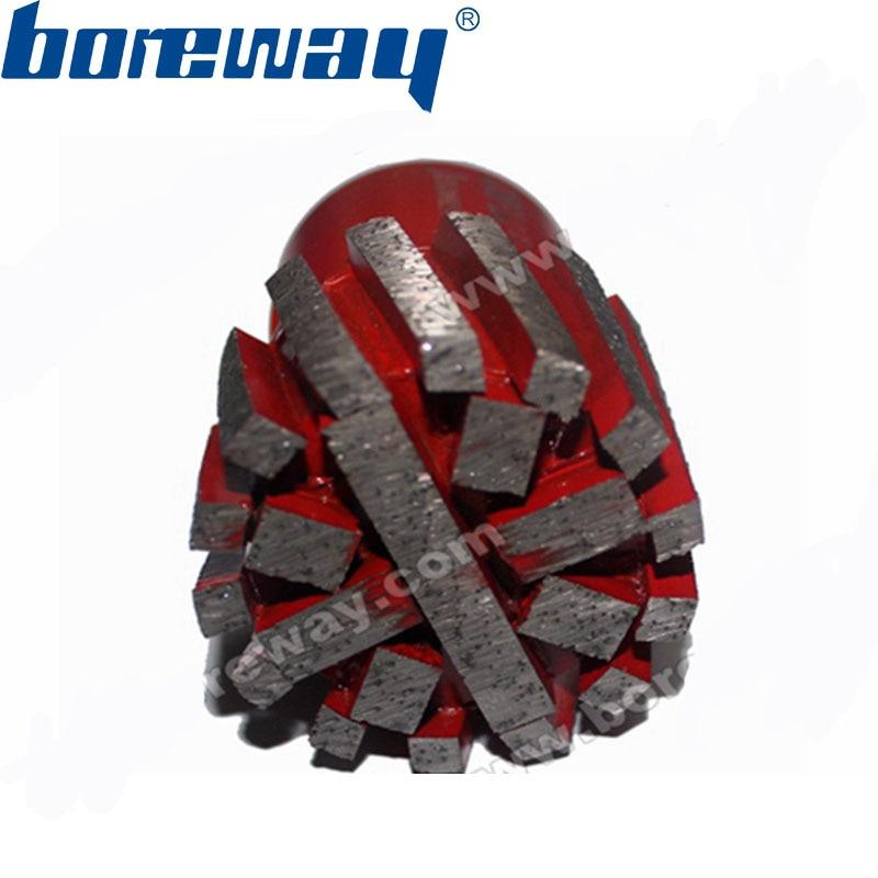 Supply D50 35T M14 Segment Zero Tolerance Drum Wheel With Strengthen Bottom For Grinding Counter