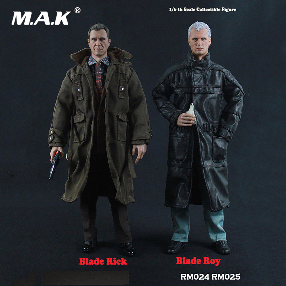 In Stock For Collection RM024 1/6 Full Set Action Figure Blade Rick Deckard Movie Actor Collectible Figure Model Toys for Gift 1 6 scale vincent rm022 john travolta movie actor action figure for collection