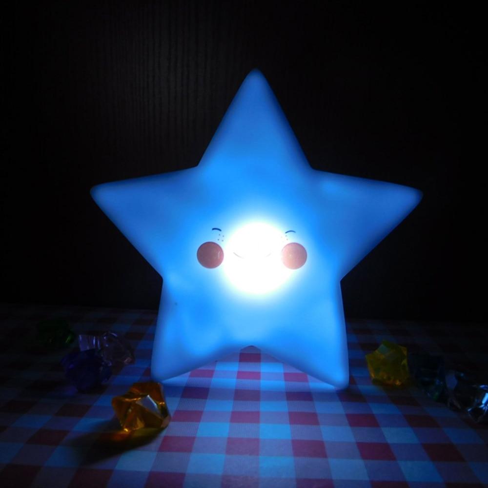 Lamps Led Star Night Light Novelty Luminaria Decorative