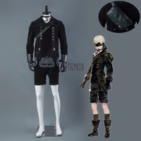 Athemis NieR Automata Cosplay Costumes YoRHa No 9 Type S Cosplay Costume