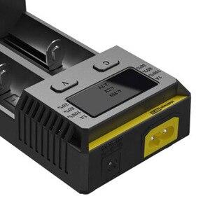 Image 5 - Ban đầu Nitecore Mới i2 Intelli Sạc Pin Phổ Sạc Nhanh cho AA AAA Li Ion 26650 18650 14500 Pin Sạc
