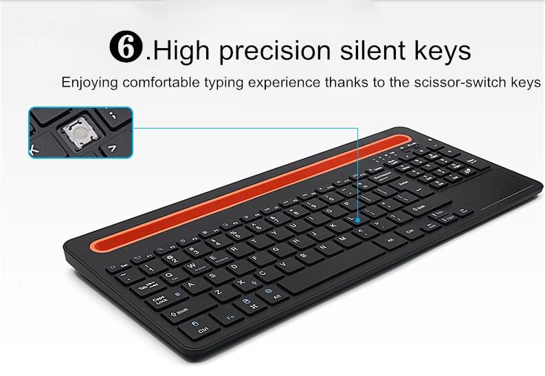 Teclado Bluetooth de panel táctil de moda para 14.1 pulgadas ezbook - Accesorios para tablets - foto 2