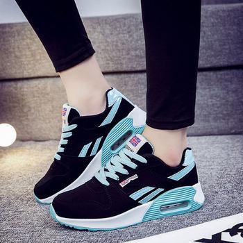 Zapatos de mujer coreanos de moda para mujer de TOURSH Krasovki Tenis zapatos casuales femeninos zapatos para caminar al aire libre zapatillas planas de mujer rosa