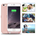 5800mAh Backup External Battery Case Charger Case Power Bank pack shell cover case with 4 led&Stand for iphone 6 6s rechargeable