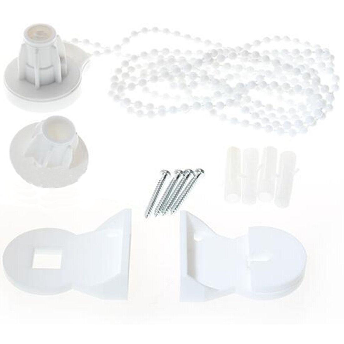 Populair Merk Witte Vlakte Beknopte Gordijn Rolluiken Roller Blind Pom Accessoires Hoge Kwaliteit Acessorios Para Cortina