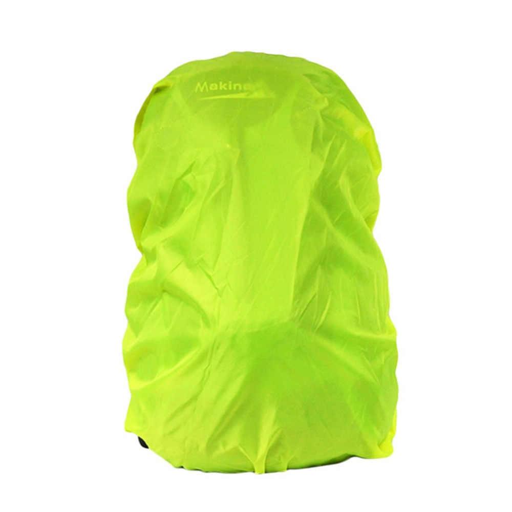 2018 حقيبة الظهر معطف واق من المطر دعوى ل 30-40L أقمشة مضادة للماء المطر يغطي مكافحة سرقة التخييم التنزه في الهواء الطلق الأمتعة حقيبة معاطف المطر
