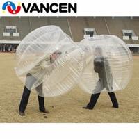 Индивидуальные ПВХ надувной пузырь футбольные мячи надувные человека шар бамперы оптовая цена надувной пузырь футбольный мяч
