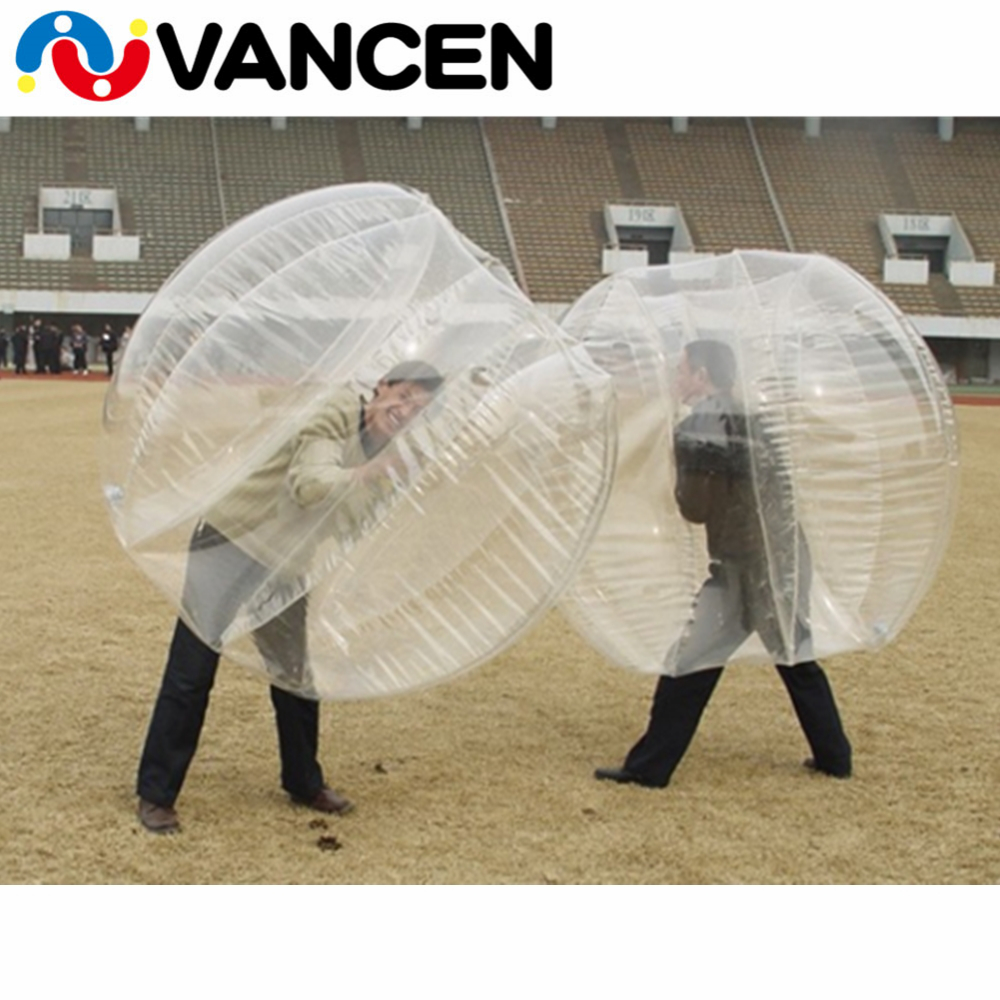 Customized PVC inflatable bubble footballs inflatable Human Balloon bumpers wholesale price inflatable bubble soccer ball