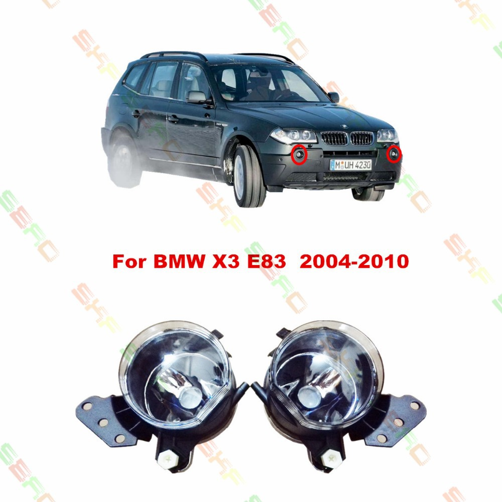 Car styling Fog Lamps  For BMW X3 E83  2004/05/06/07/08/09/10  12 V   1 SET FOG LIGHTS цена 2017
